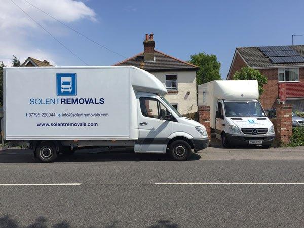 Southampton Removal Company Van